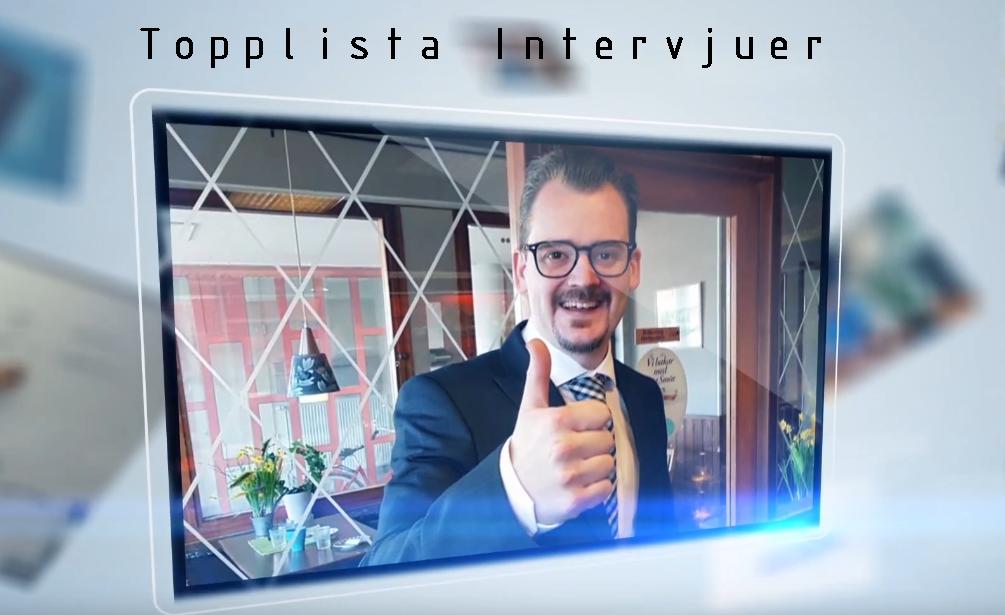 Topplista intervjuer