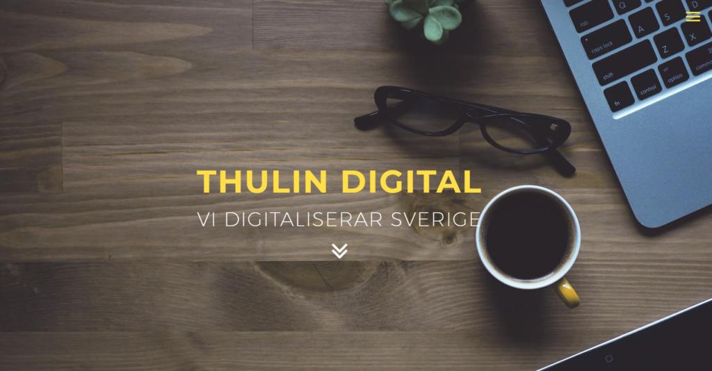 Thulin satsar på digitaliseringen